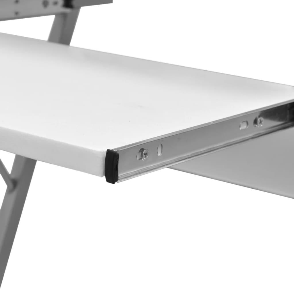 der computertisch computerwagen pc tisch b rotisch laptop auf rollen wei online shop. Black Bedroom Furniture Sets. Home Design Ideas