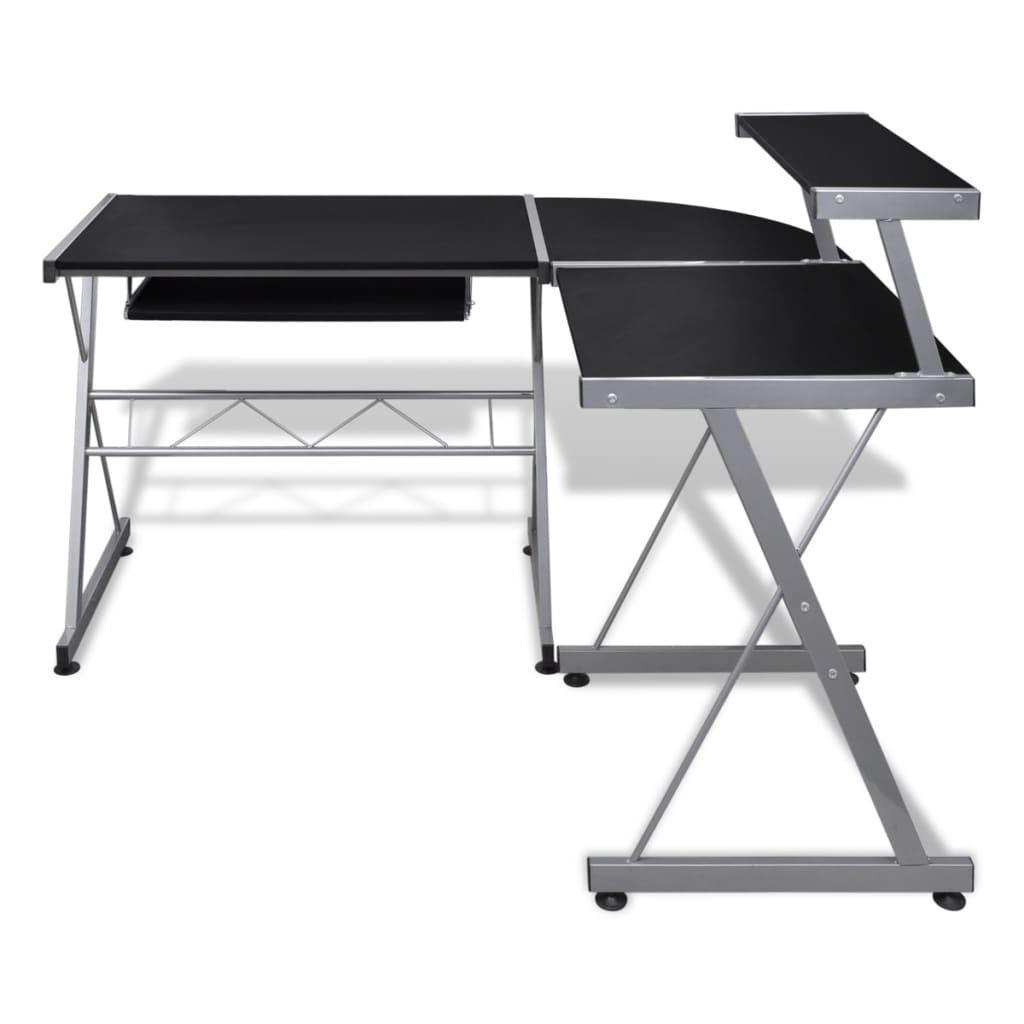 La boutique en ligne grande table de bureau noire pour - Table pour ordinateur de bureau ...