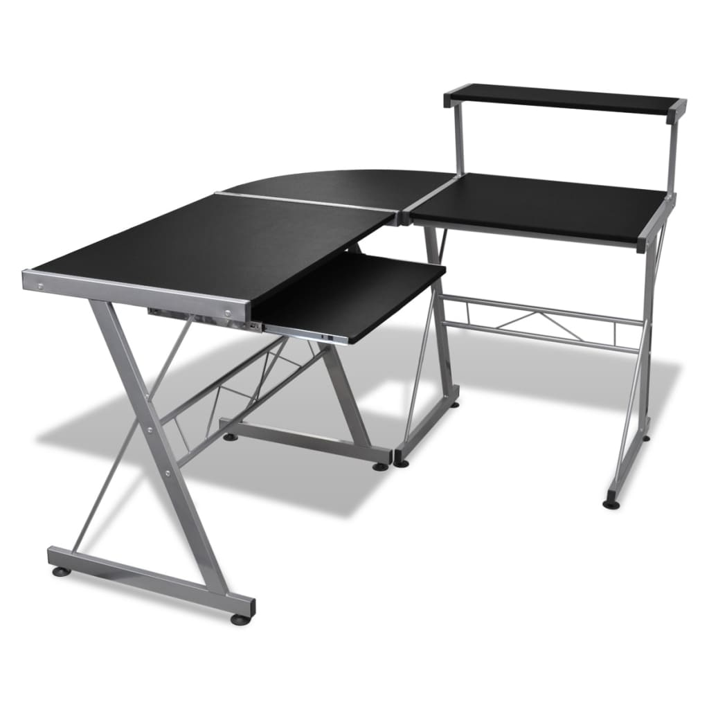 vida-xl-computer-desk-workstation-with-pull-out-keyboard-tray-black