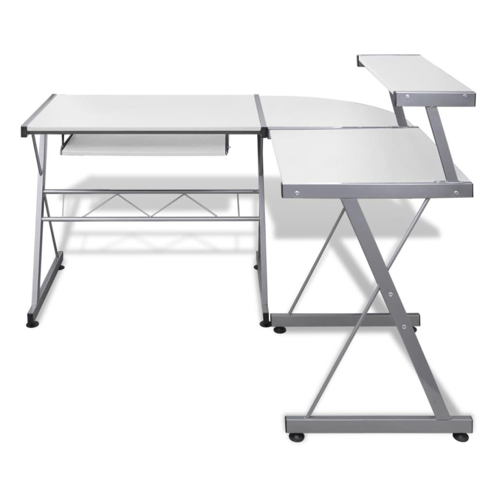 Workstation Keyboard Cheap : computer desk workstation with pull out keyboard tray white ~ Hamham.info Haus und Dekorationen