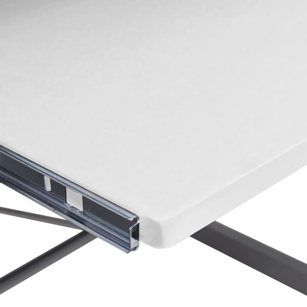 la boutique en ligne grande table de bureau blanche pour ordinateur. Black Bedroom Furniture Sets. Home Design Ideas