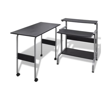 Počítačový stůl černý