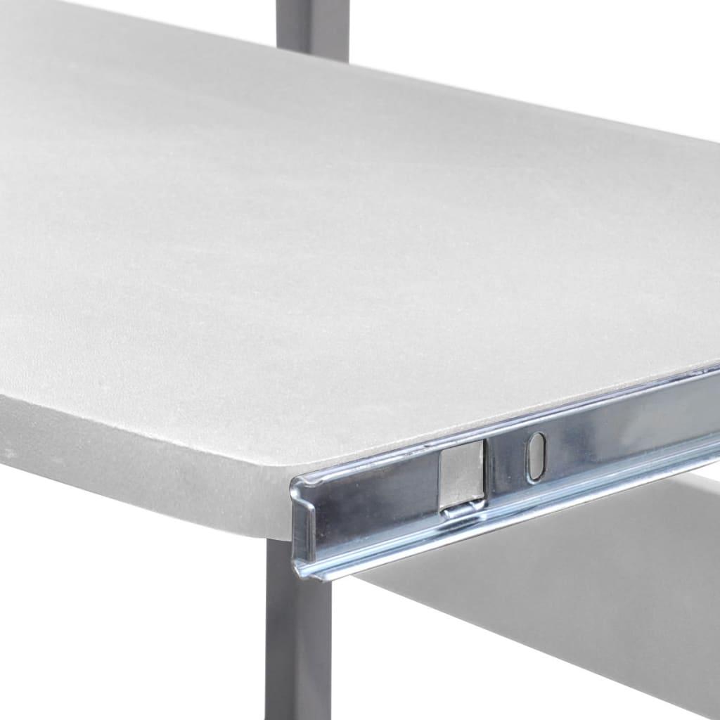 La boutique en ligne table de bureau r glable blanche pour - Table pour ordinateur de bureau ...