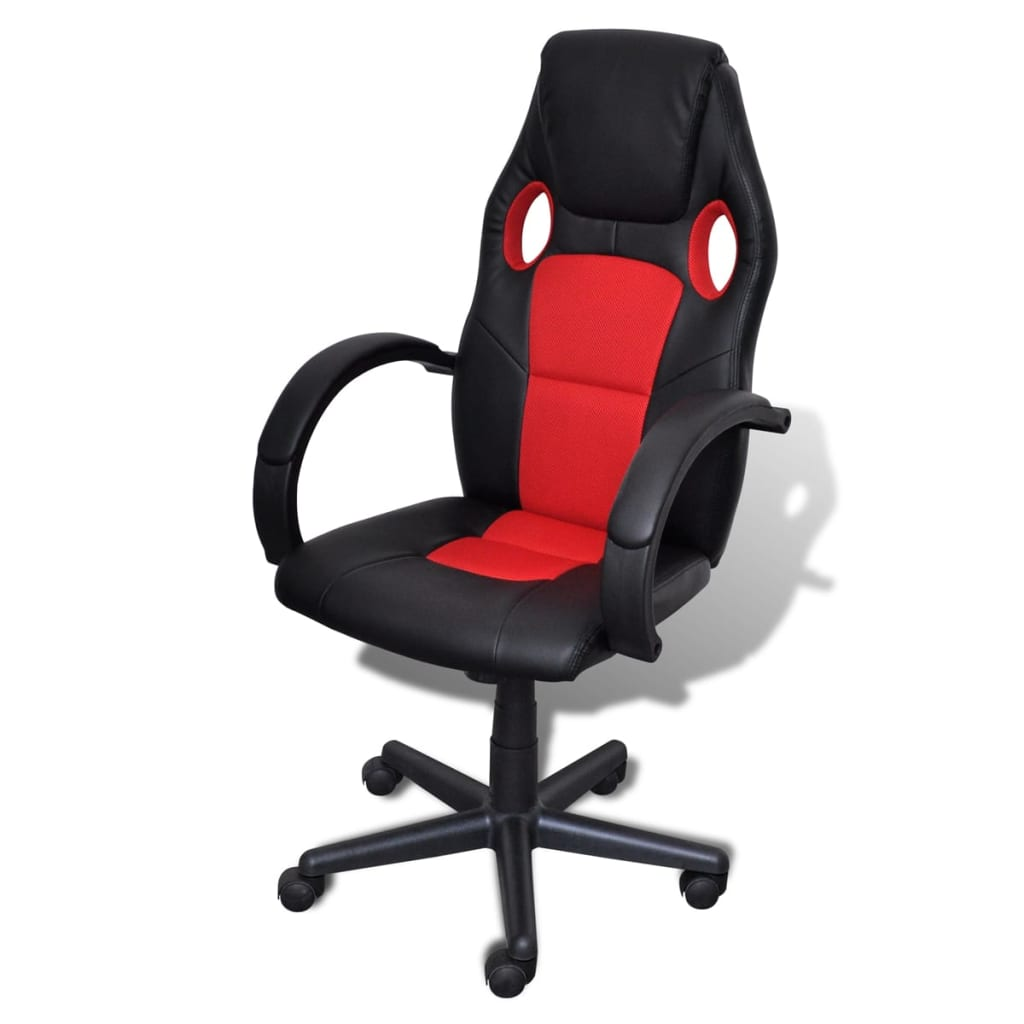 la boutique en ligne fauteuil de bureau si ge de bureau sport rouge. Black Bedroom Furniture Sets. Home Design Ideas