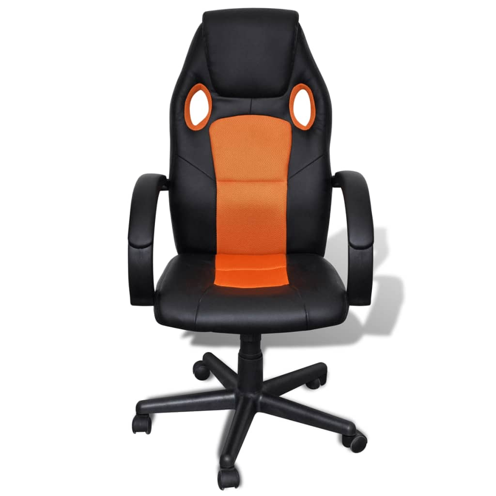 la boutique en ligne si ge fauteuil de bureau professionnel orange. Black Bedroom Furniture Sets. Home Design Ideas