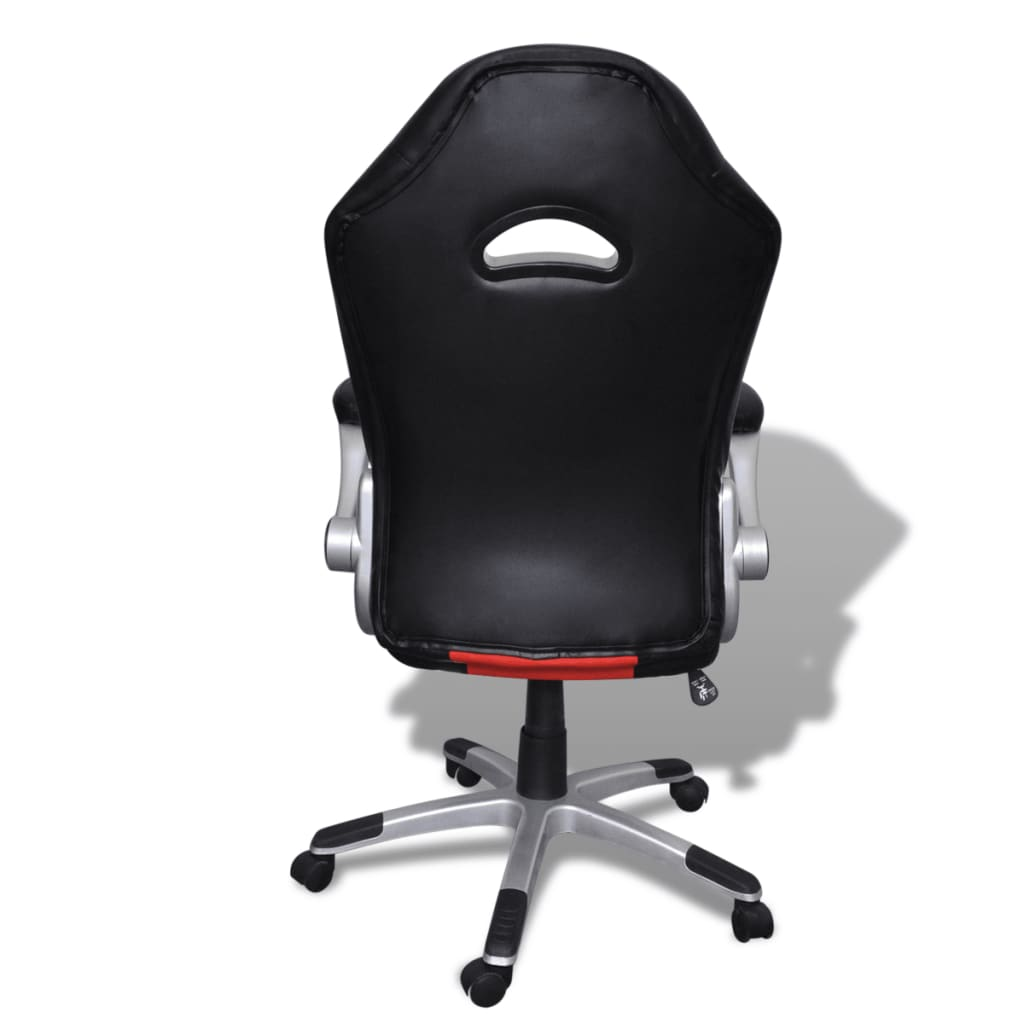 la boutique en ligne fauteuil en similicuir moderne de bureau design rouge. Black Bedroom Furniture Sets. Home Design Ideas