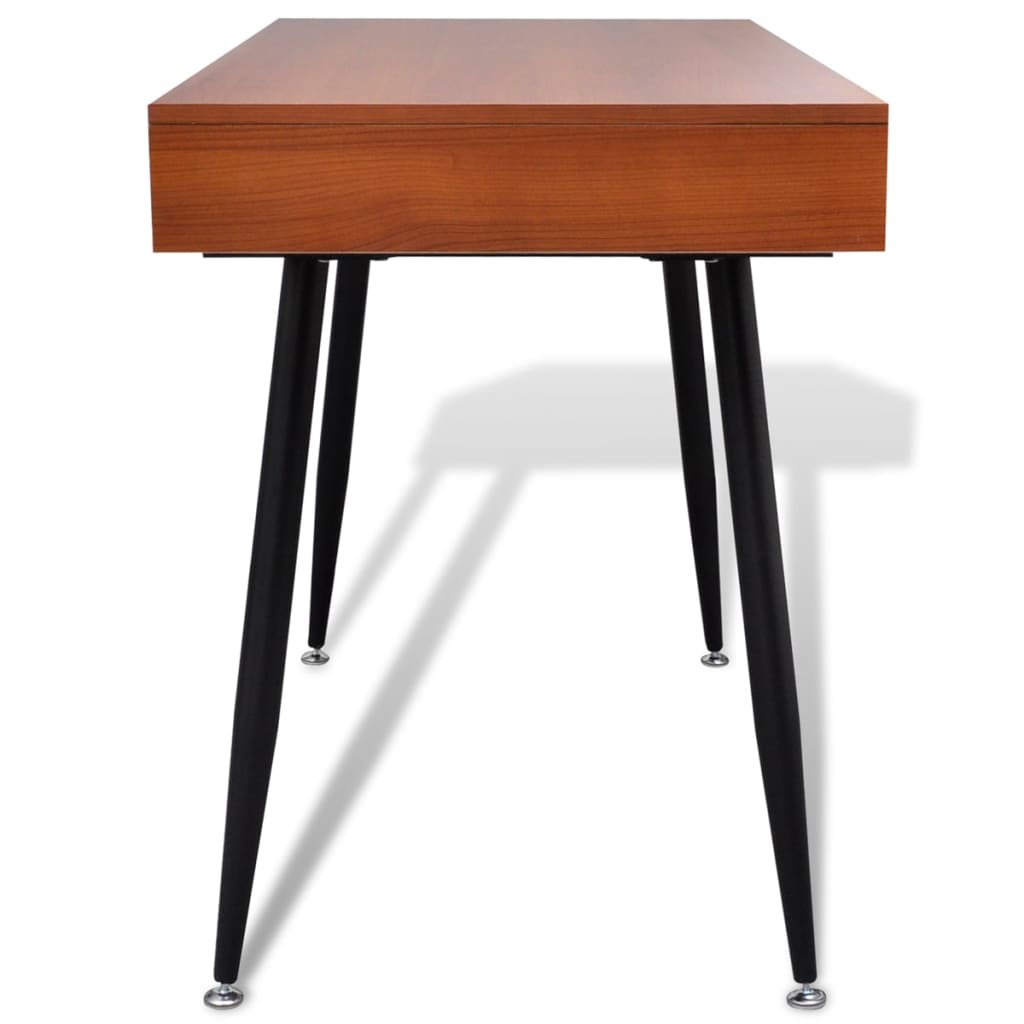 La boutique en ligne table d 39 ordinateur brun for Table ordinateur