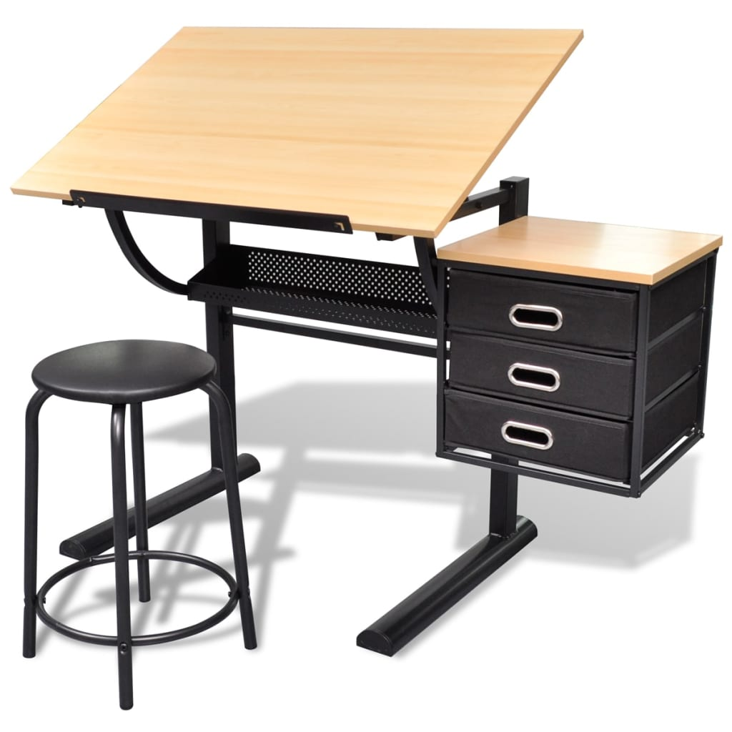 La boutique en ligne table dessin inclinable avec for Table bureau