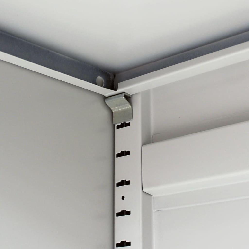 Acheter armoire m tallique de bureau avec 2 portes 90 cm for Porte metallique de service