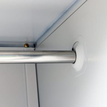 der metall schlie fachschrank spind schrank 6 t ren grau online shop. Black Bedroom Furniture Sets. Home Design Ideas
