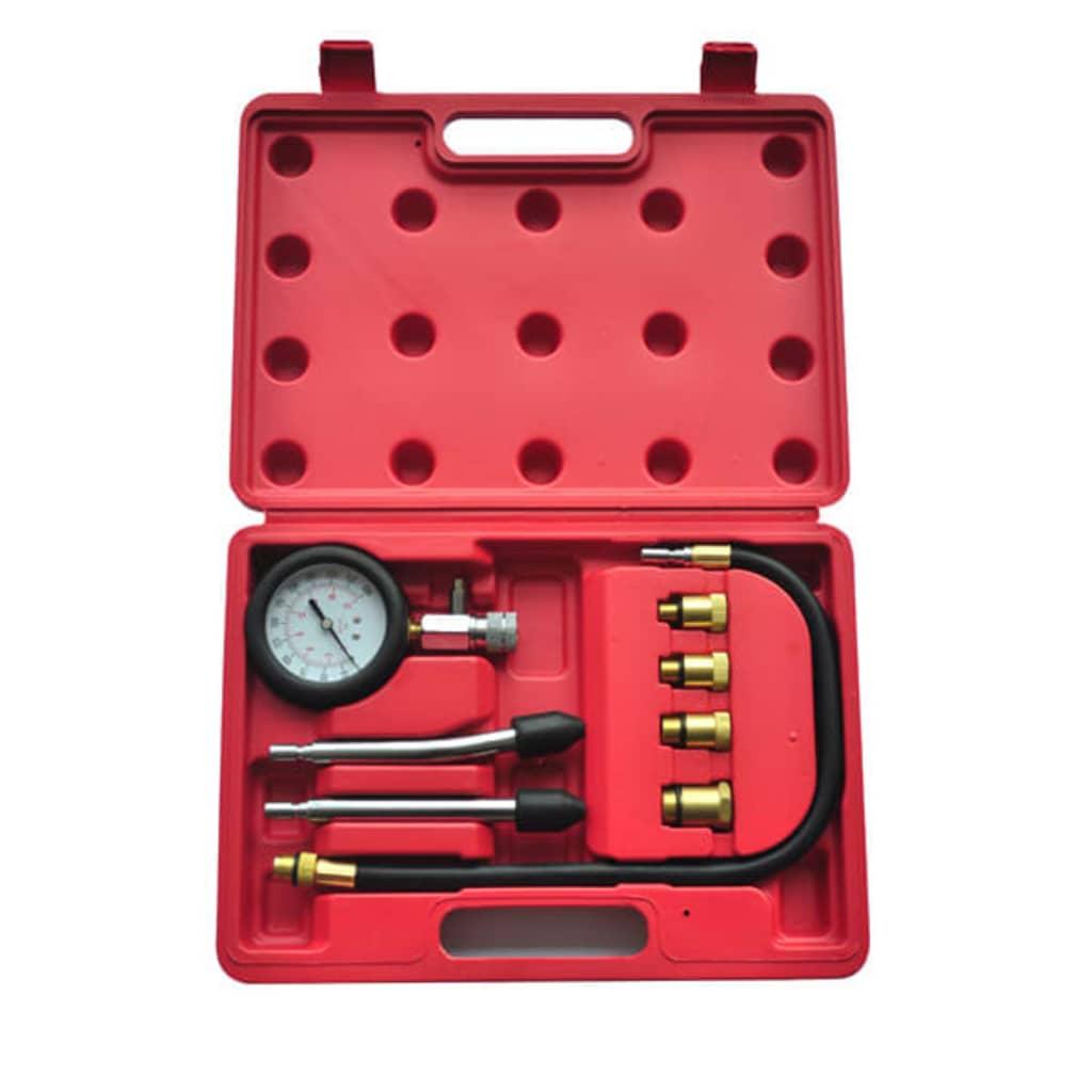 vidaXL 9 Darabos Kompresszió Mérő Szerszám Benzinmotor