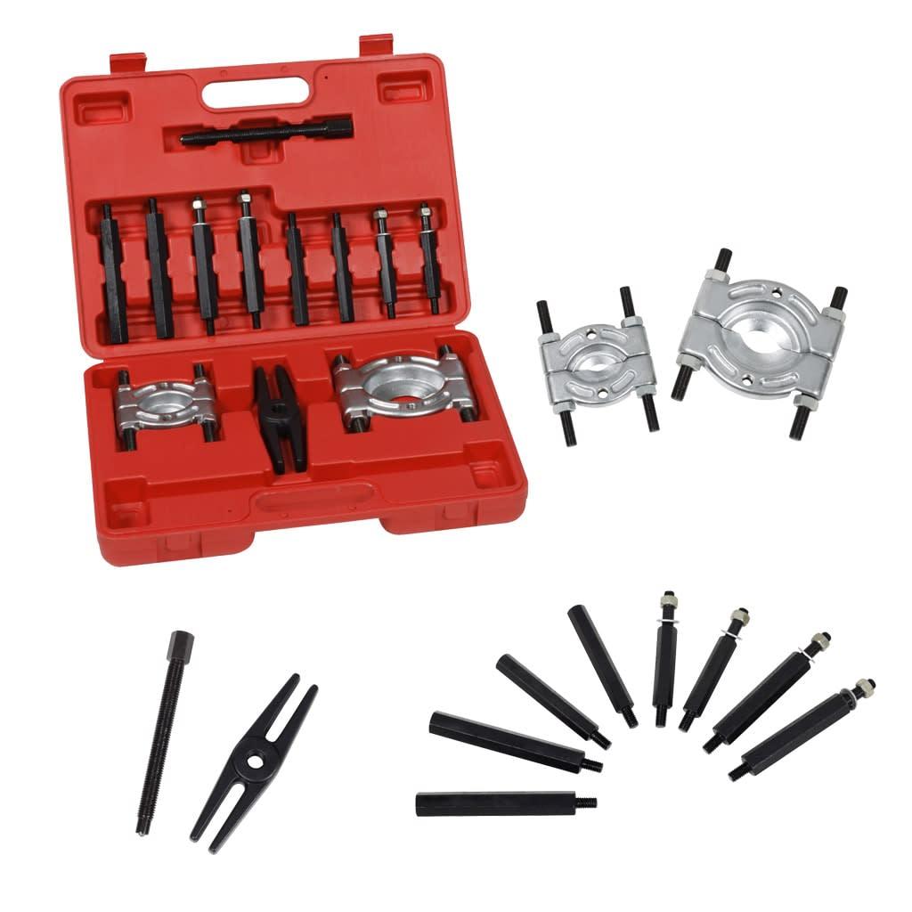 Gear Puller Set : Vidaxl bearing splitter and gear puller set
