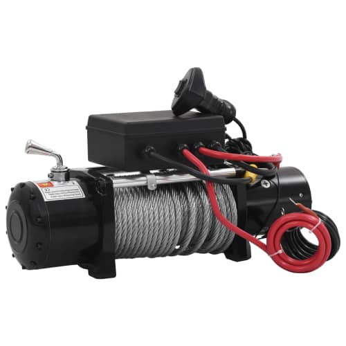 ELECTRIC-WINCH-12V-13000LBS-5909KG-WIRELESS-REMOTE-ATV-4WD-4x4-TRUCK-BOAT