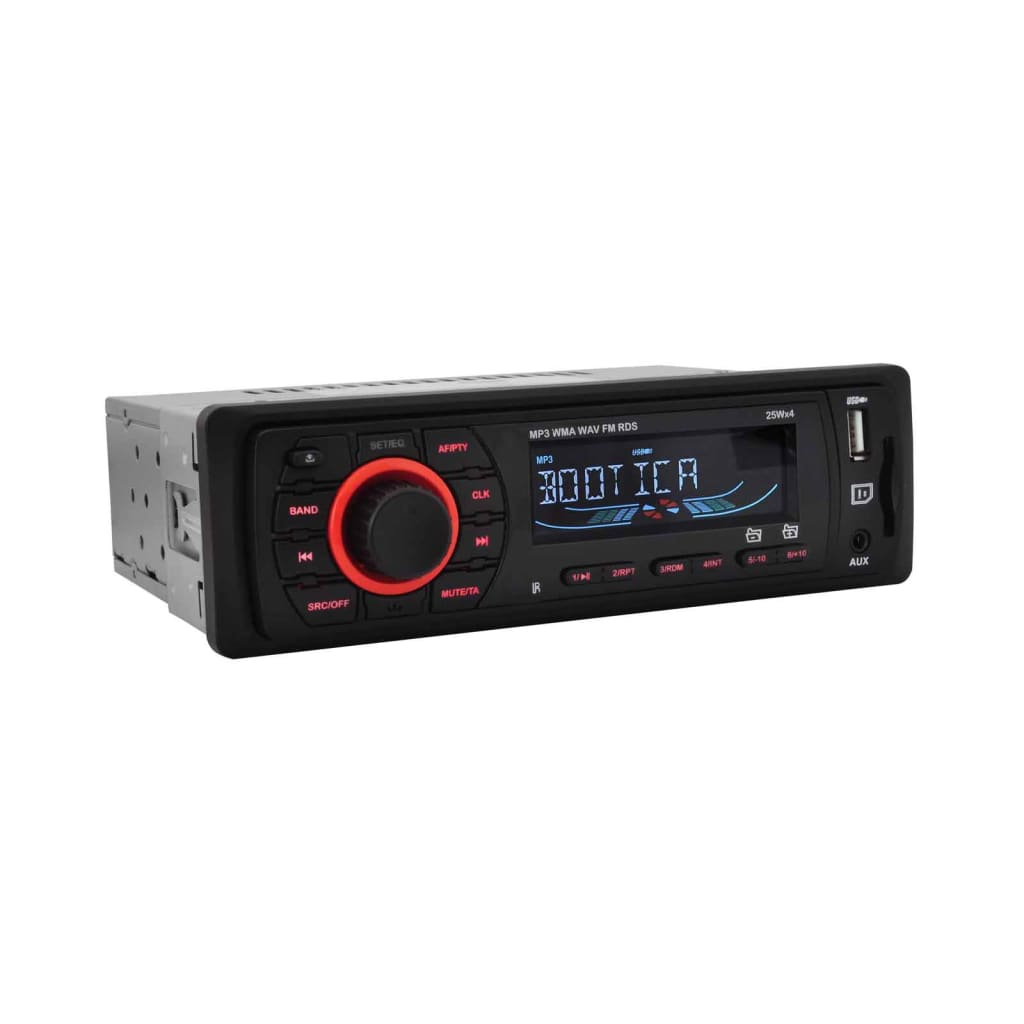 auto radio mp3 usb sd aux 4x25w rds car stereo digital. Black Bedroom Furniture Sets. Home Design Ideas