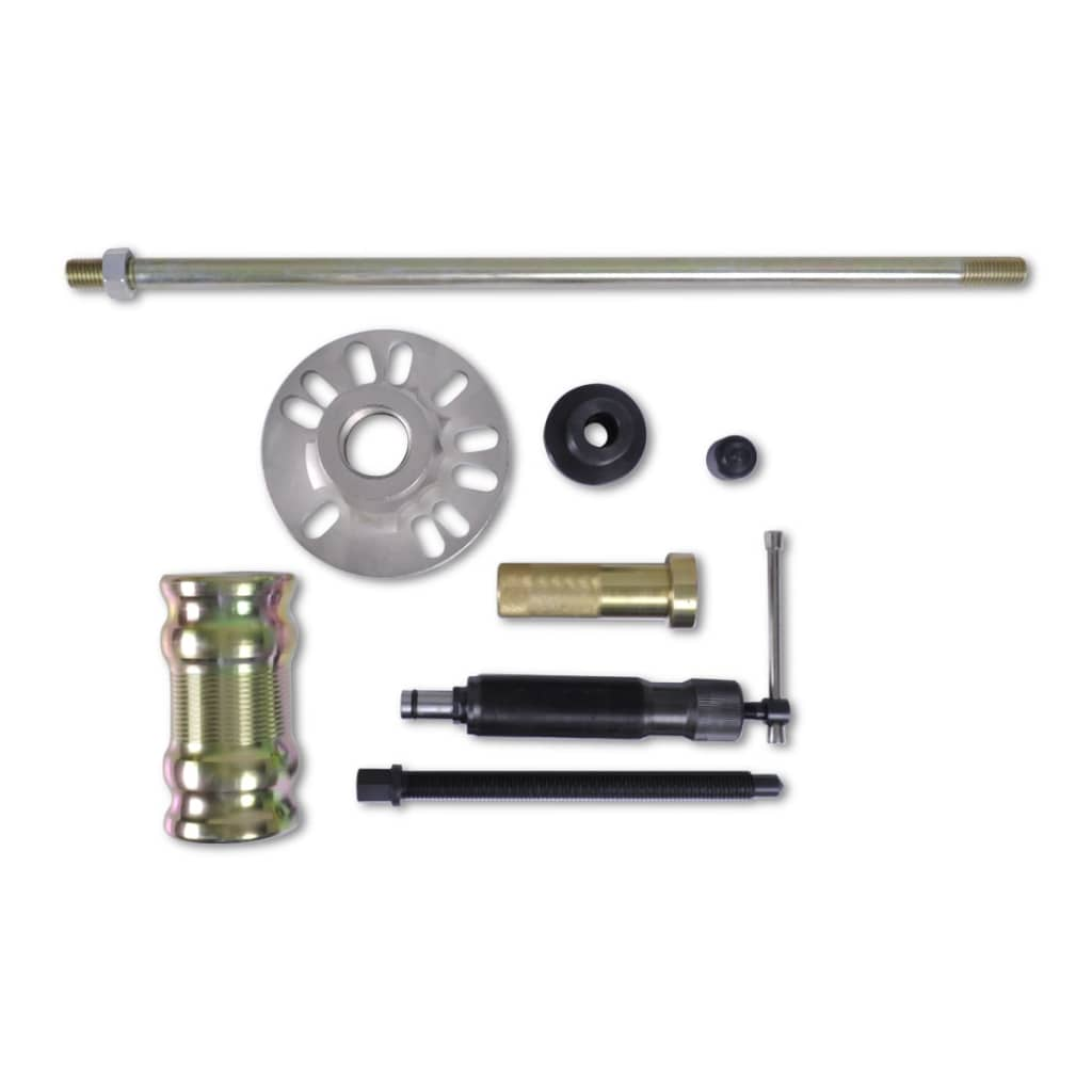 Hydraulic Wheel Hub Puller : Hydraulic wheel hub puller with hammer set ton vidaxl