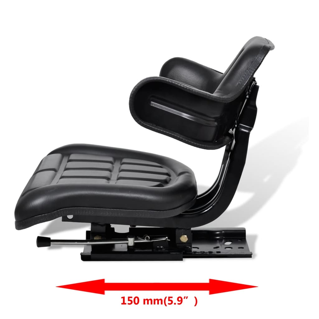 Tractor Seat Two : Tractor seat arm rest and backrest vidaxl