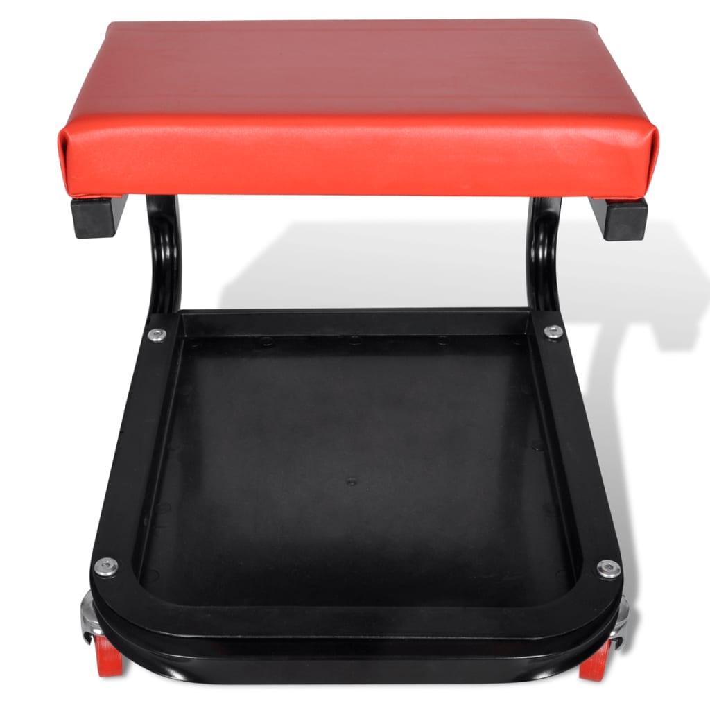 Mechanic rolling seat stool garage shop stool for Garage seat 78