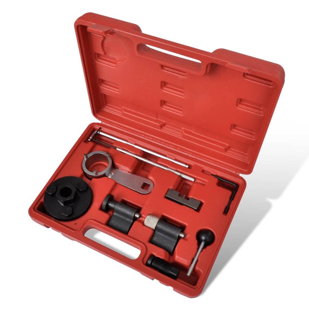 vidaXL Vezérlésrögzítők Szerszámkészlet VAG 1,6 & 2,0 L TDI