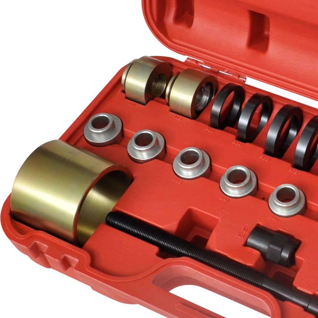 Volkswagen Wheel Bearing Puller : Front drive wheel bearing removal installation tool set