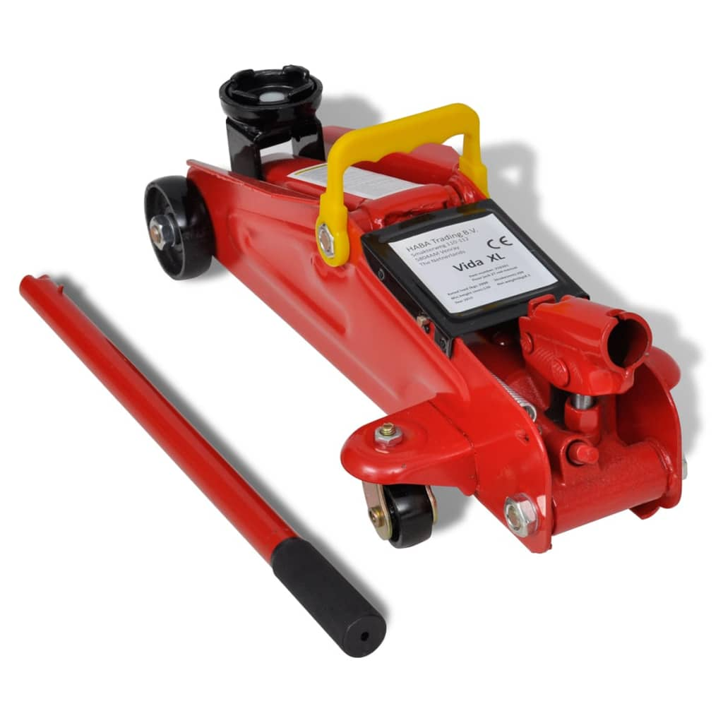 210261 Floor Jack Hydraulic Trolley Jack 2 Ton Red | www ...