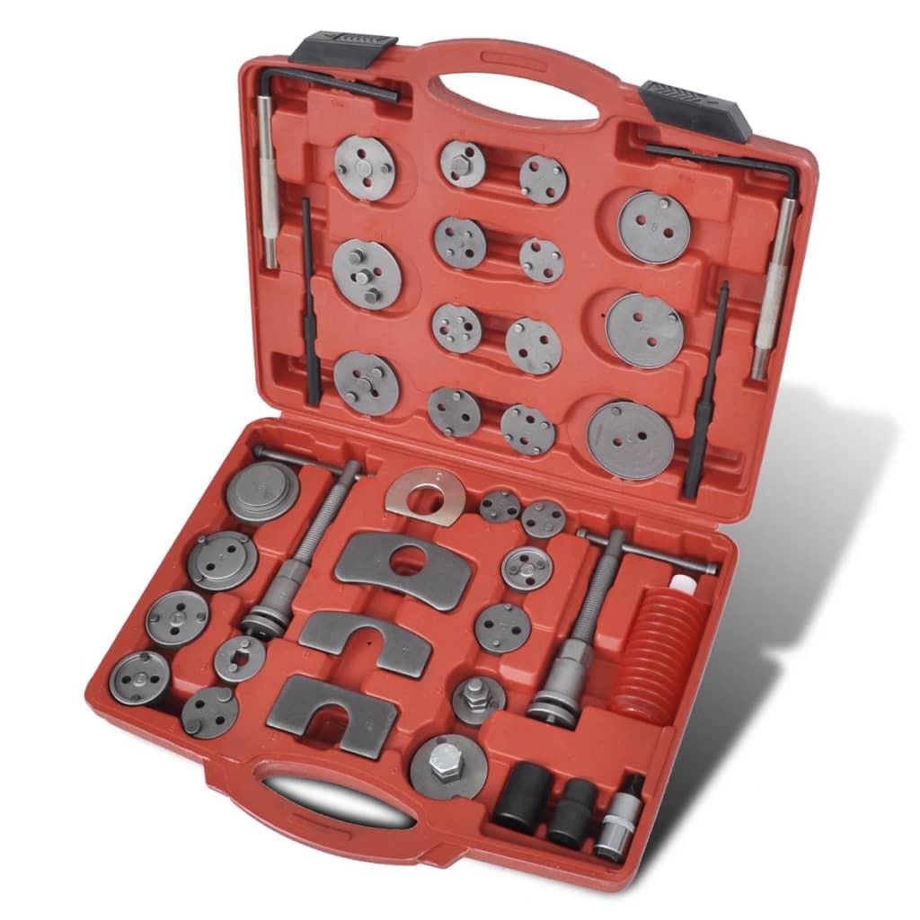 brake caliper piston wind back tool kit 40 pcs. Black Bedroom Furniture Sets. Home Design Ideas