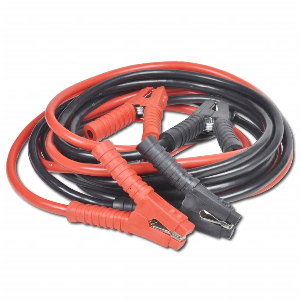2pcs Car Start Booster Cable 1800a Made From Copper Clad Aluminum Vs Wiring Picture 13 Of