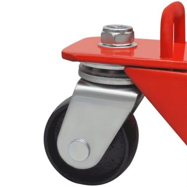 Hydraulický zvedák na motorku / čtyřkolku, 680 kg, červený[6/6]