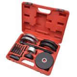 16 pcs Kit d'outils de roulement de roue 62 mm pour VAG