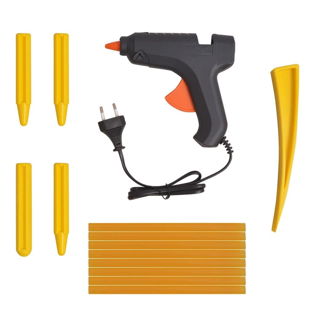 acheter vidaxl kit de d bosselage sans peinture 50 pi ces acier inoxydable pas cher. Black Bedroom Furniture Sets. Home Design Ideas