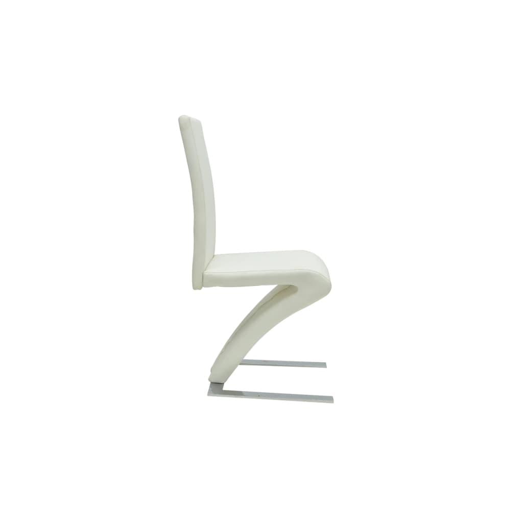 Articoli per sedie moderne design set da 2 sedie in pelle for Sedie bianche design