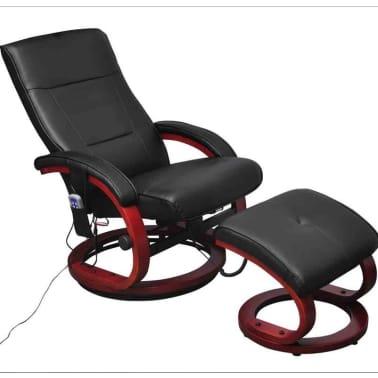 acheter fauteuil de relaxation massant lectrique noir pas cher. Black Bedroom Furniture Sets. Home Design Ideas