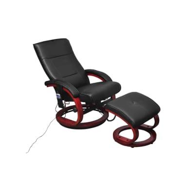 La boutique en ligne fauteuil de relaxation massant lectrique noir - Fauteuil relax solde ...
