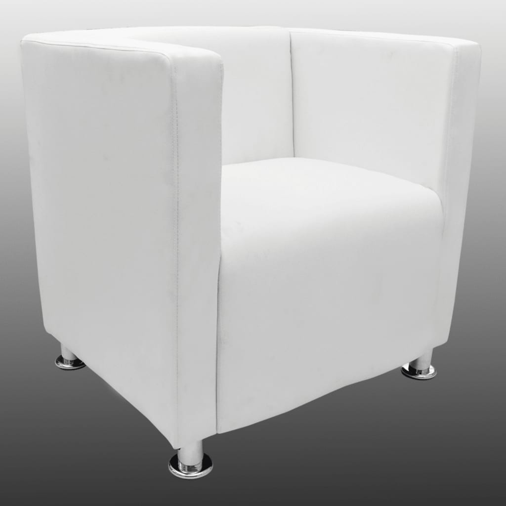 la boutique en ligne fauteuil design club blanc. Black Bedroom Furniture Sets. Home Design Ideas