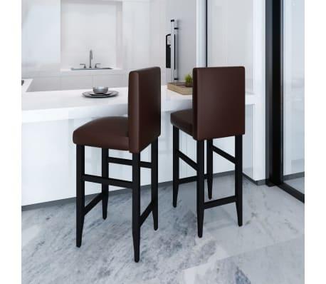 der 2 design barhocker bar stuhl hocker braun online shop