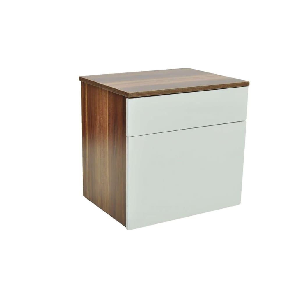 la boutique en ligne lot de 2 table de chevet marron. Black Bedroom Furniture Sets. Home Design Ideas