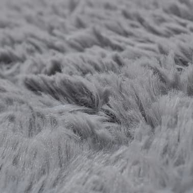 grey shaggy carpet 120 x 170 cm heavy weight 2600 g m. Black Bedroom Furniture Sets. Home Design Ideas