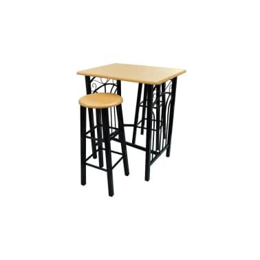 Buche Barset 2X Barhocker Stühle Stehtisch Bartisch Günstig Kaufen