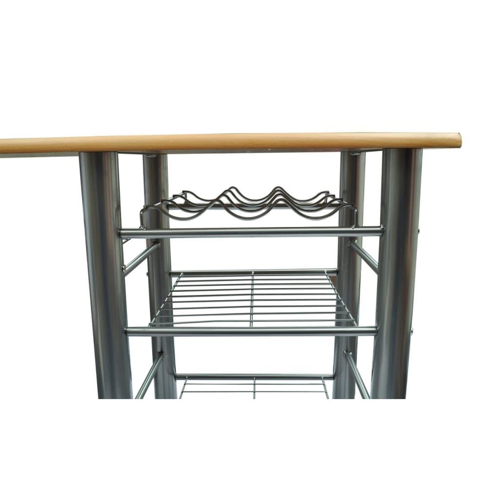 Tavolo da cucina con sedie set in legno for Sedie da tavolo