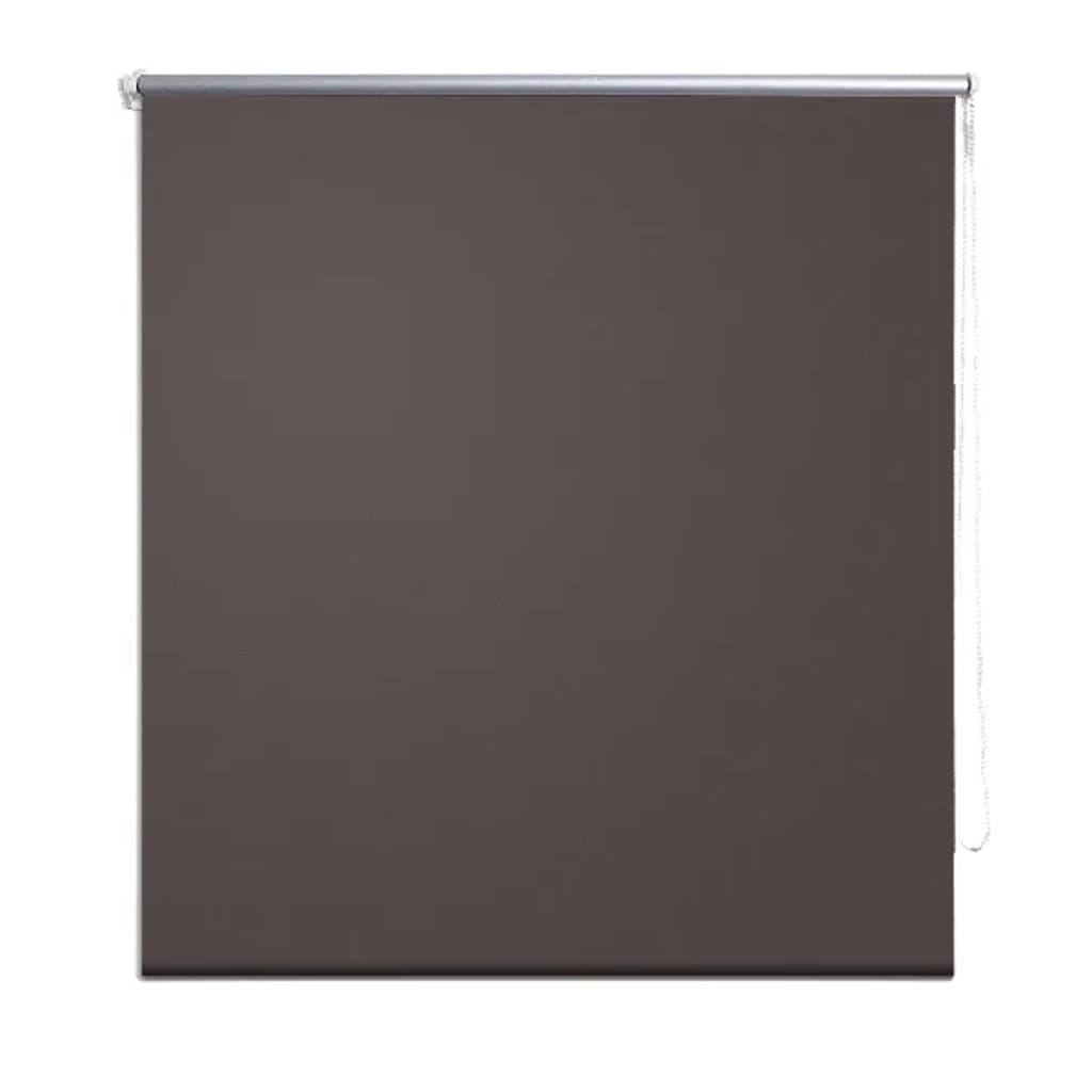 vidaXL-Estor-persiana-enrollable-140-x-175-cm-cafe-para-ventana-Clip-Seguridad