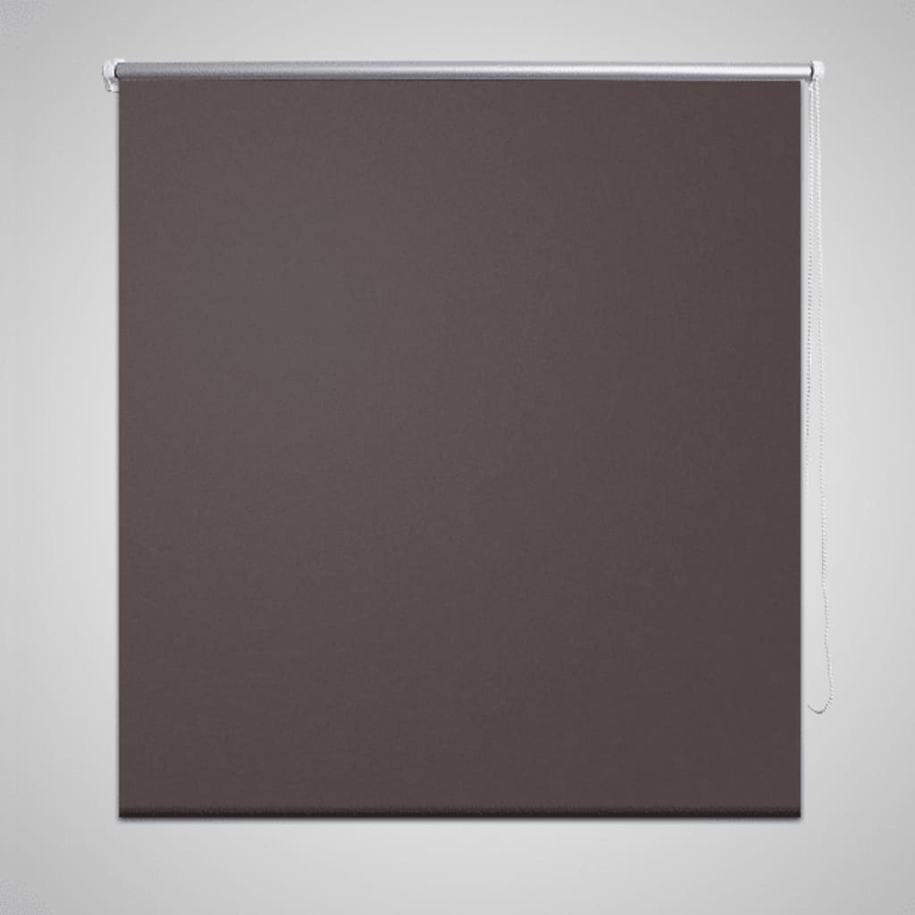New Black Out Roller Blinds Bedroom Coffee Colour Various Size