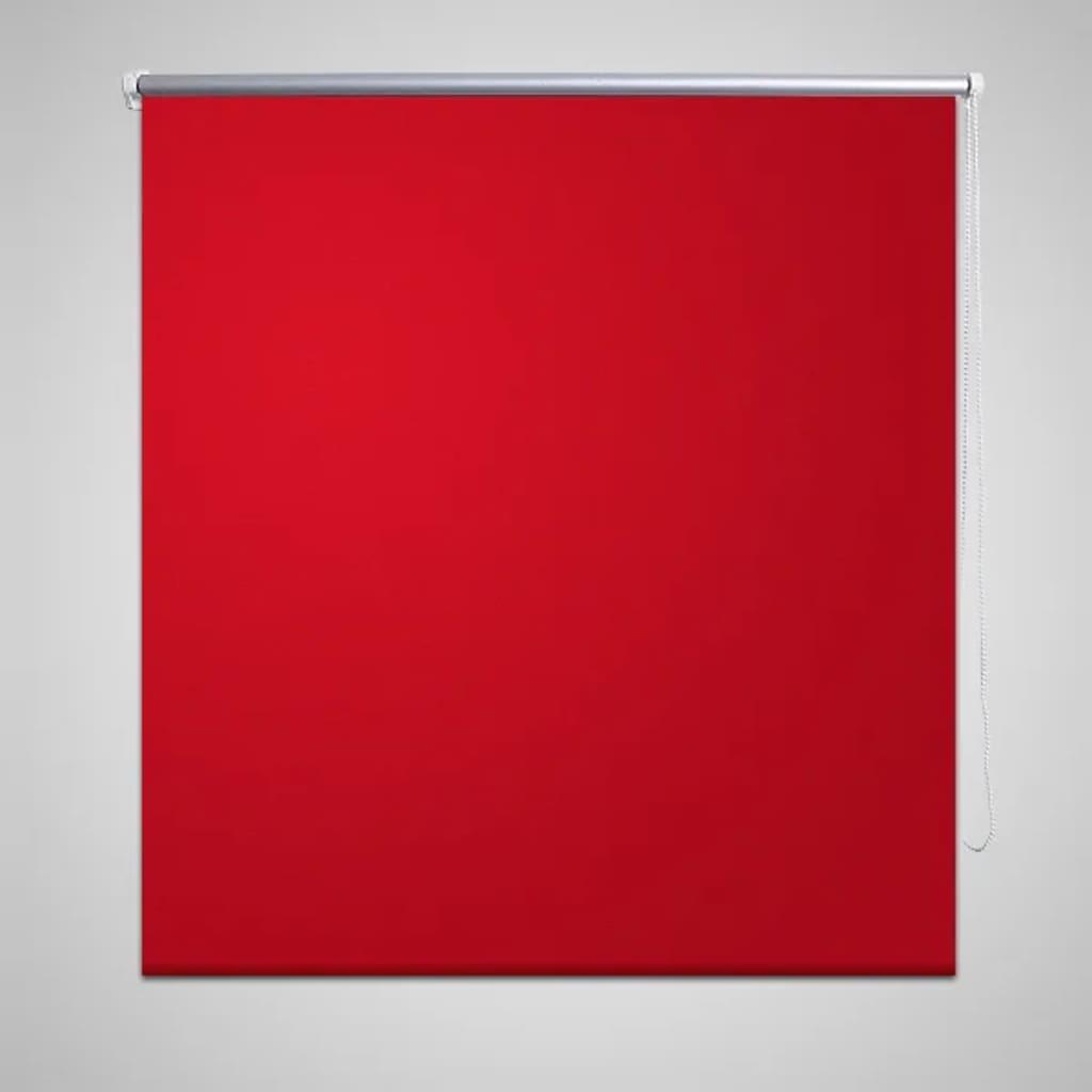 Rullgardin röd 120 x 230 cm mörkläggande