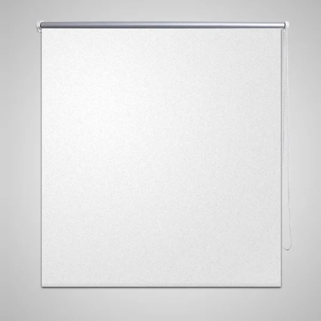 Rullgardin vit 140 x 230 cm mörkläggande