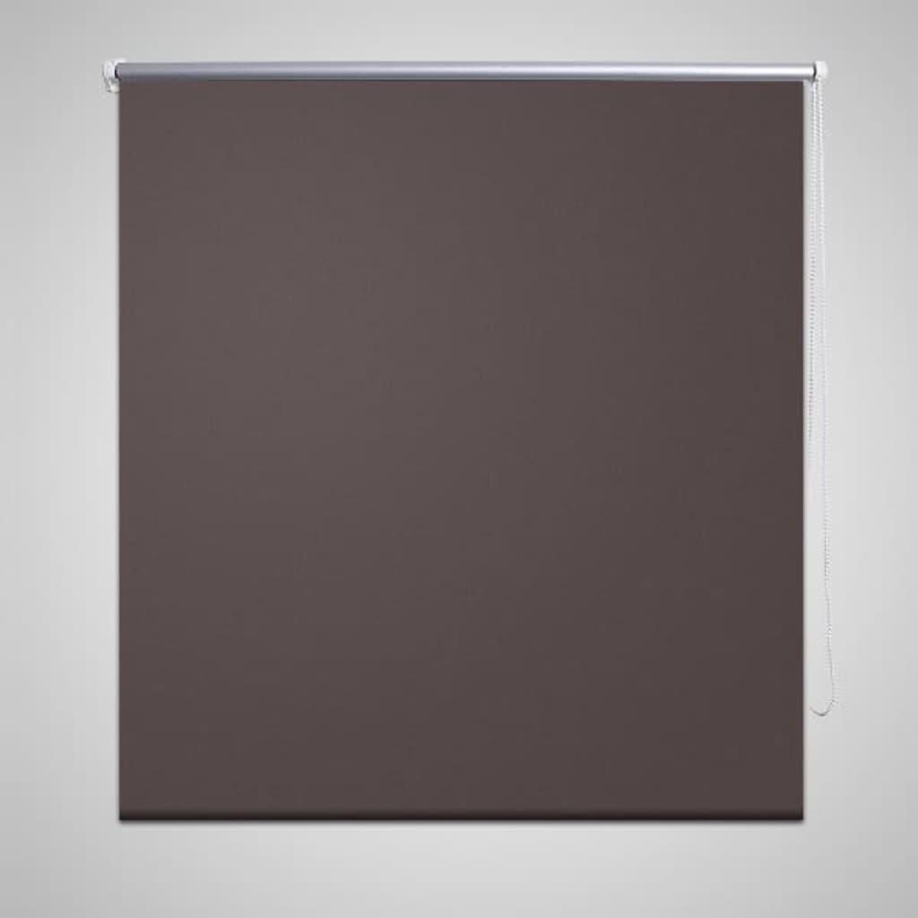 Rullgardin brun 160 x 230 cm mörkläggande