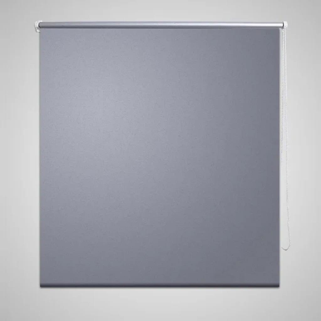 Rullgardin grå 160 x 230 cm mörkläggande