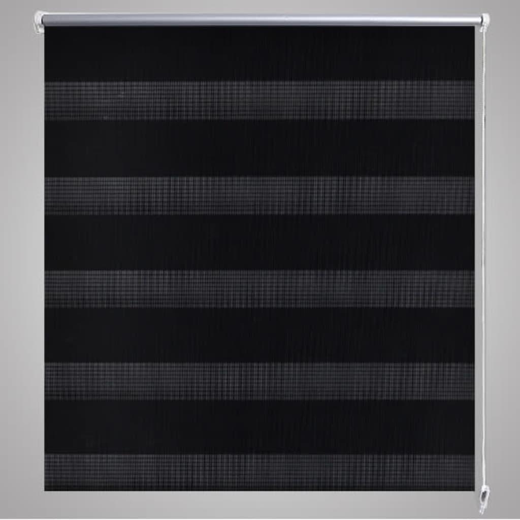 doppelrollo 50 x 100 cm schwarz g nstig kaufen. Black Bedroom Furniture Sets. Home Design Ideas