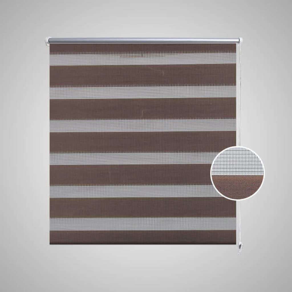 store enrouleur tamisant 80 x 150 cm marron. Black Bedroom Furniture Sets. Home Design Ideas