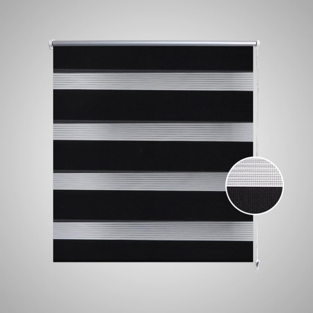 Zebra Gardiner 90 x 150 cm Svart  www.vidaxl.no
