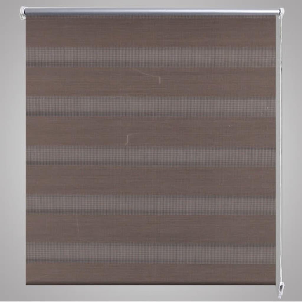 la boutique en ligne store enrouleur tamisant 90 x 150 cm marron. Black Bedroom Furniture Sets. Home Design Ideas