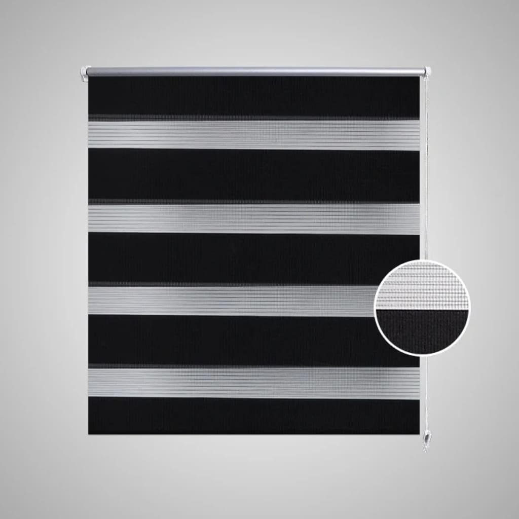 doppelrollo seitenzug 120 x 175 cm schwarz g nstig kaufen. Black Bedroom Furniture Sets. Home Design Ideas