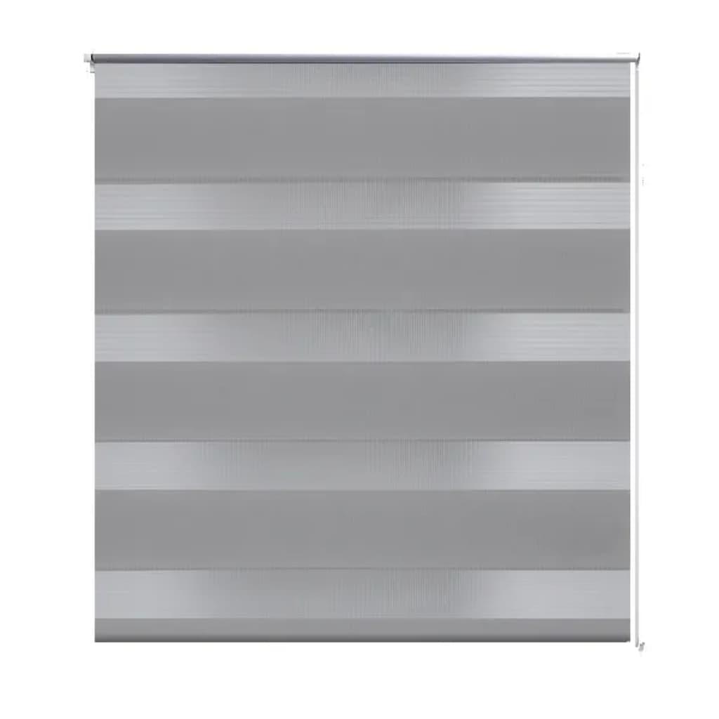 Afbeelding van vidaXL Duo rolgordijn 120 x 230 cm grijs